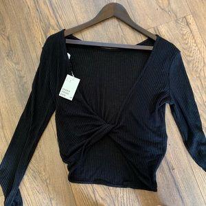 H&M Twist Back Long-sleeve
